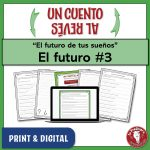 Link to a Spanish writing activity to practice the future tense
