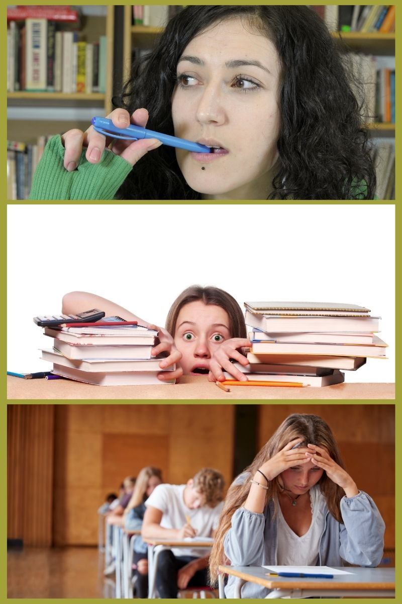 Image showing nervous students for post on boosting student confidence.